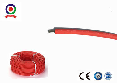 Abrasion Resistant Single Core Solar Cable , 4mm2 Electrical Power Cable